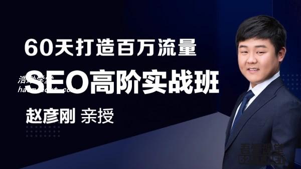 赵彦刚SEO高阶实战班教程官网价值3298
